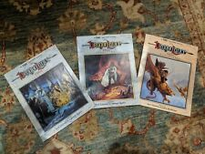 The Dragon Lance Saga (Volumes 1 2 3) Original Paper Back, TSR Dungeons and Drag