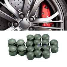 Set of 20 Wheel Locking Bolt Cover&Lug Nut Center Caps For VW Audi Skoda Seat
