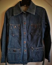 GWG denim 4 pocket jacket size 13