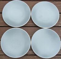 SET of 4  SASAKI COLORSTONE MATTE GRAY GREY   7 1/2 inch   Salad Plates