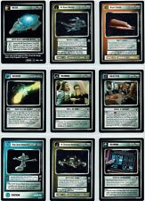 STAR TREK CCG THE TROUBLE WITH TRIBBLES COMPLETE SET OF 21 RARE CARDS