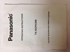 Panasonic TV User Manual Operating Instructions TX-55CR430B