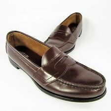 Eastland Classic II Penny Loafers Women's Size 8N Narrow Brown Leather Slip-Ons
