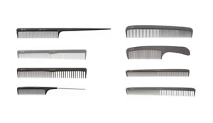 Fejic Pro Carbon Hairdressing Salon Combs 210, 212, 214, 257, 269, 272, 274, 275