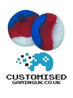 1 x Pair Two Tone Thumb Grip Analog Stick Cap Cover PS4 PS5 XBOX ONE