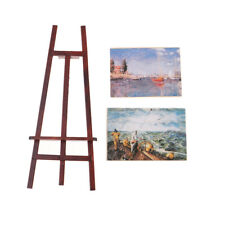 1:12 Dollhouse Miniatures Artist Easel with Paintings Pictures Fairy House Decor