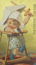 Anglo-Swiss Condensed Milk Co Milk-Maid Brand Cham, Switzerland Child Walker Y2