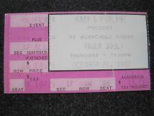 BILLY JOEL Concert Ticket Stub  October 28, 1982  Mcnichols Arena