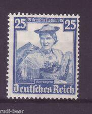 Deutsches Reich Nr.  595 *  Trachten Oberbayern  Miesbacher Festtract
