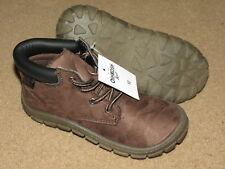 NEW NWT OshKosh BGosh soft brown hiking boots - toddler boys 12
