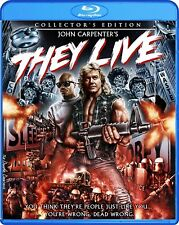 They Live Collector's Edition John Carpenter Blu-ray Roddy Piper Keith David TV