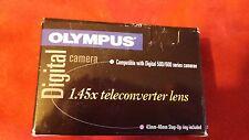 Olympus 1.45x teleconverter lens 43mm - 46mm