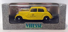Vitesse Models 1/43 Scale Metal Model - 165 Mercedes 170 Bundespost - Yellow