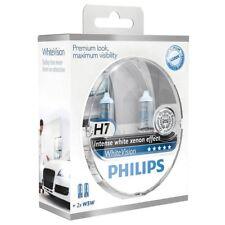 PHILIPS Halogenlampen Satz H7 WHITE VISION 12V 55W PX26d 12972WHVSM