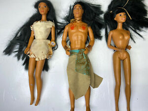 DISNEY PRINCESS Pocahontas & KOCOUM Barbie Dolls