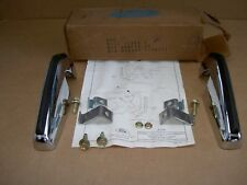 71-72 Ford Mustang RH/LH front bumper guard kit, D1ZZ-17996-A, NOS