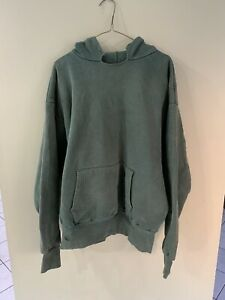 Vintage 70s Karl Kuemmerling Sweater Hoodie Sweatshirt army Xxl double 2 Ply