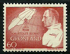 Greenland 1969, King Frederik's 70th Birthday, Map, UNM / MNH