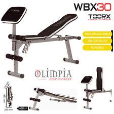 Toorx WBX-30 Panca Pesi Addominali + ARM CURL - Garanzia ITA .(No SAN MARINO)