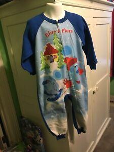 blues clues 4t christmas pajama nick jr.