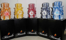 Set of 5 Rose Unique handmade gift candle Hand Carved candles 5 inch/ 12cm