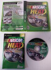 XBOX - Original Xbox NASCAR Heat 2002 Game Complete NTSC USA InfoGrames 2001