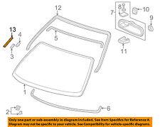 HONDA OEM 96-00 Civic Windshield-Reveal Molding Seal 73127S04000