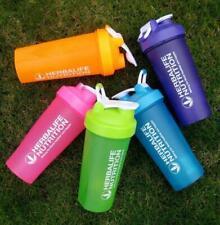 600ml Herbalife Shake Taza de la botella de agua potable Nutrición Deportiva al Aire Libre Plástico