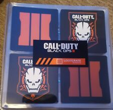 call of duty black ops 3 drinks coasters new sealed
