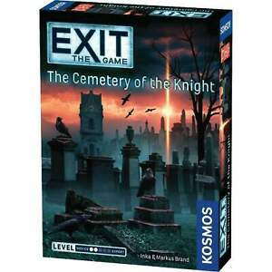 """Exit: The Game - The Cemetery of The Knight """"An Escape Room Game for the Home!"""""""