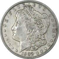 1902 Morgan Dollar XF EF Extremely Fine 90% Silver $1 US Coin Collectible