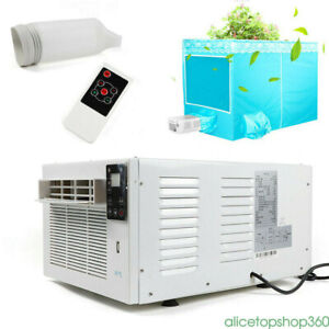 1100W Portable Air Conditioner Cooler Dehumidifier Refrigerated Cooling w/ RC AU