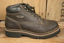 SKECHERS 2620 Brown Leather Mid Ankle Hiking Boots Women's Sz. 7