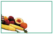 Grocery Store Farmers Market Produce Display Sale Price Signs 100pcs 11 X 7