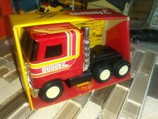 "1979 Buddy L Mack Cabover Hauler Rig Cab 433-G Japan w/Box (4.5"" Red Steel)mini"