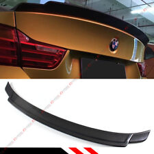 FOR 2014-17 BMW F32 4 SERIES 2DR EXOTIC EXTENDED CARBON FIBER TRUNK SPOILER WING