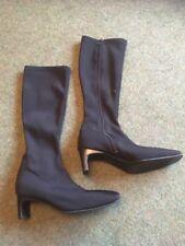 Atmosphere Ladies Knee High Boot In Black Size Eu37