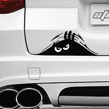 Car SUV Exterior Rear Windshield Decorative Angry Peeking Monster Sticker Vivid