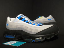 2010 NIKE AIR MAX 95 COOL GREY PHOTO BLUE WHITE BLACK NEON 609048-034 OG DAY 12