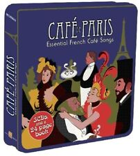 Cafe De Paris over 3 hours of Essential French Songs 3 CD Tin Edith Piaf