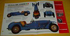 1932 Alfa Romeo 8C 2300 I8 2336cc SuperCharger IMP info/Specs/photo 15x9