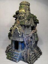 AQUARIUM ORNAMENT ANCIENT TEMPLE RUINS oriental temple FISH TANK DECORATION