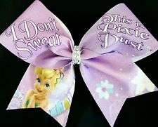 Cheer Bow - Tinkerbell - Pixie Dust -  Hair Bows