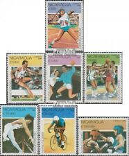 Nicaragua 2993-2999 (complète edition) neuf avec gomme originale 1990 Jeux Olymp