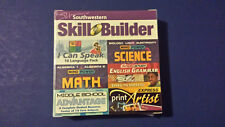 Southwestern Skill Builder Middle School Math Science Print Artist 6 Discs, New!