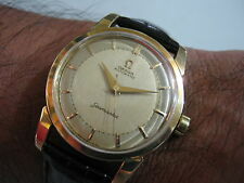 Classic OMEGA SEAMASTER Automatic Cal. 501 Men's Watch 60's Rare Collections