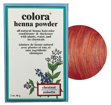 Colora Henna Powder All Natural Hair Color 60g Chestnut