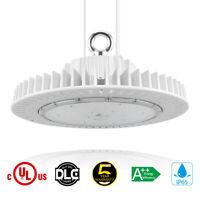 DLC UFO LED High Bay Light 150 WATTS US Plug 5FT CABLE Warehouse Wood Mill Light