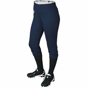 Demarini Women's Sleek Softball Pant Navy Lg