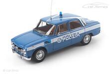 Alfa Romeo Giulia Super 1600 (1970) - Polizia - 1 of 500-MINICHAMPS - 1:18 - 1
